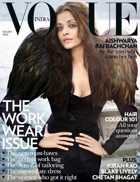 Aishwarya Rai on Vogue