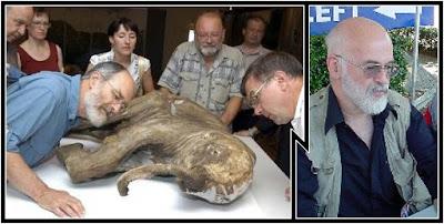 Baby mammoth and Terry Pratchett