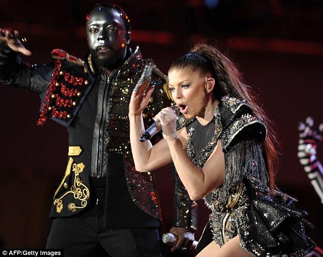 Black Eyed Pea Costume The Black Eyed Peas Rocked