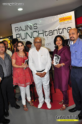 iswariya rajinikanthRadhika at Book Launch of Rajinis PUNCHtantra at Odyssey gallery
