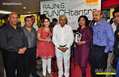 iswariya rajinikanthRadhika at Book Launch of Rajinis PUNCHtantra at Odyssey function pics