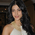Sruthi Hassan in Cute White Dress Photos