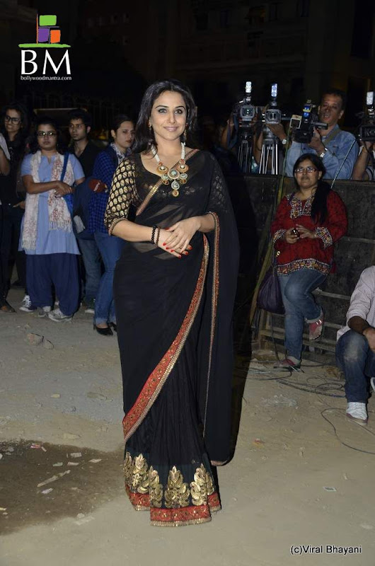 Vidhya balan at th Idea Filmfare Awards photos cleavage