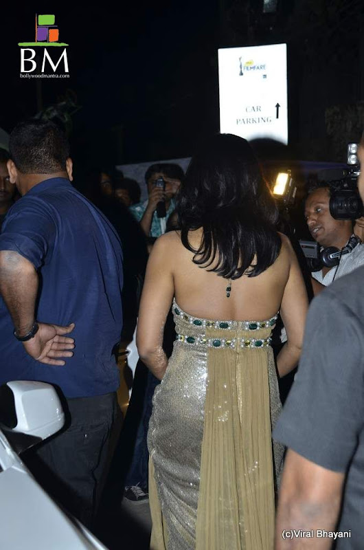 Sameera reddy at th Idea Filmfare Awards photos gallery pictures