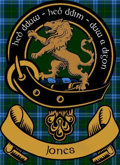 Jones of wales clan badge thejamesjones portfolio