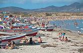 Playa los Molles/ Actividad pesca