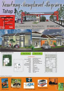Brosur Banjarbaru Property tahap dua bagian belakang