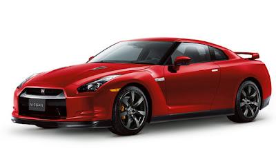 Nissan GTR 2010 Red