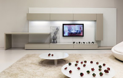 design contemporar living room with classic chair black