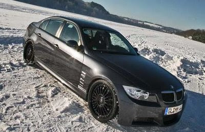 New BMW 320d Winter Concept