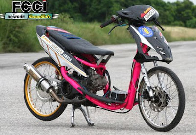 Top modifikasi mio drag 2012