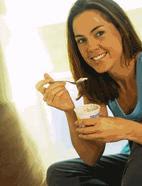lose weight eat yogurt