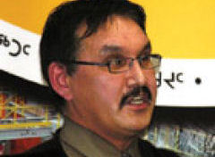 Harry Flaherty, chefe do Nunavut Wildlife Management Board, Canad: