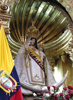 Virgem das Mercês, padroeira do Equador, Luzes de Esperança