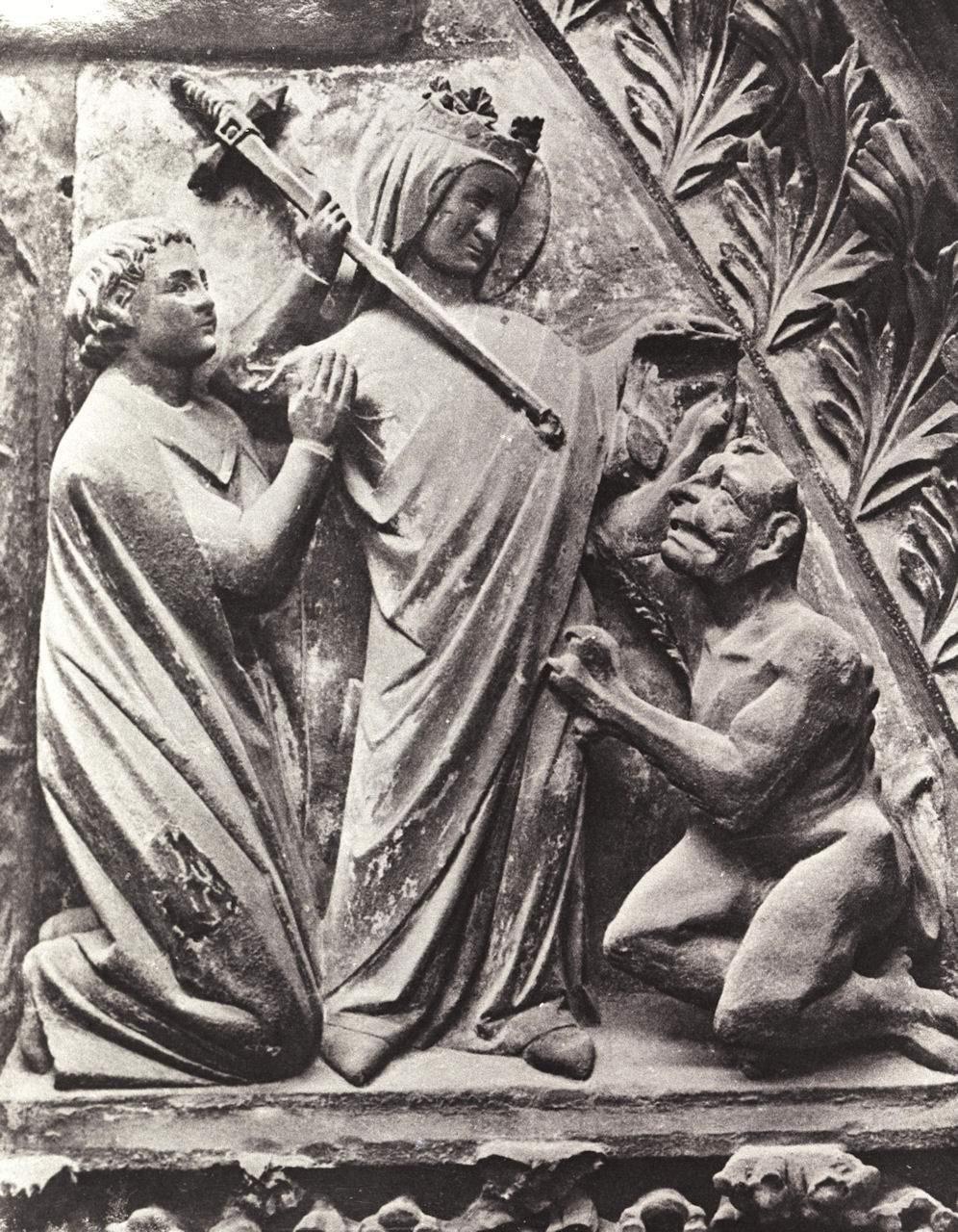Nossa Senhora enxota o demônio e salva o clérigo Teófilo