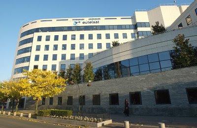Sede da Eutelsat, pesadelo chinês