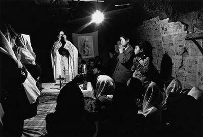 Missa clandestina, Shaanxi,1995, Pesadelo chinês