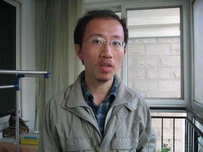 Hu Jia, enviado a campo de concentracao