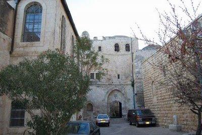 Igreja do Cenáculo, Jerusalén