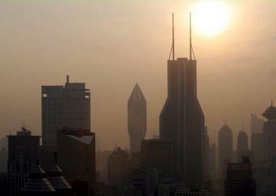 Shangai, construção na China em risco