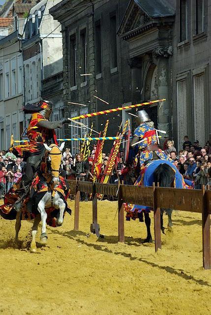 Justa medieval, Cambrai