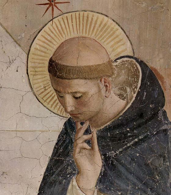 São Domingos de Gusmão. FraAngelico, convento de São Marco