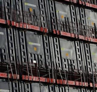 Hotel de contéineres de aço chinês, Londres