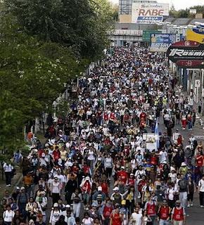 700.000 jovens peregrinos a Lujan
