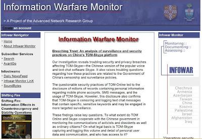 Monitor Guerra da Informação