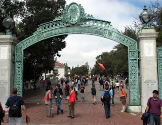 Caravana de estudantes pelo casamento tradicional, Berkeley University