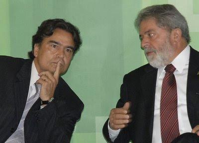Ministro Temporão com presidente Lula, Antonio Cruz-ABr