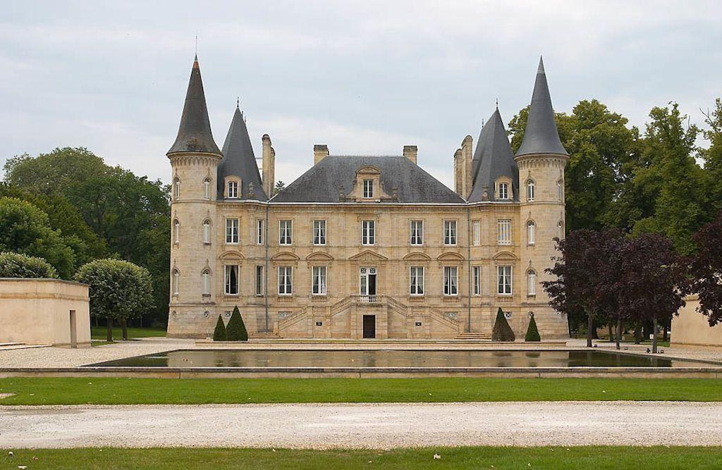 Castelo de Pichon Lalande. O castelo também tem uma dimensão familiar.