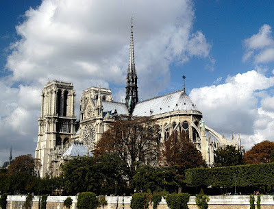 Notre-Dame no outono