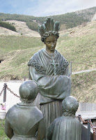 Nossa Senhora confia o Segredo em La Salette