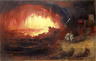 Sodoma e Gomorra, John Martin.