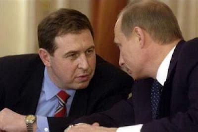 Andrei Illarionov com Putin