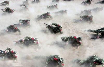 Exercicio militar chines, Shijiazhuang