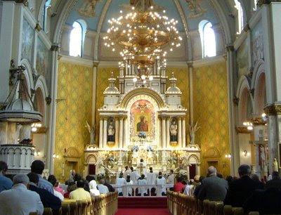 Misa em Latim, Saint Josaphat, Detroit