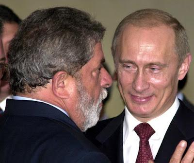 Lula e Putin no Itamaraty, Ricardo Stuckert-ABr