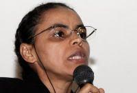 Senadora e ex-ministra do Meio Ambiente Marina Silva: