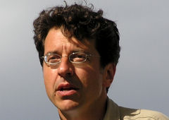George Monbiot (II), ambientalista do The Guardian, Londres: