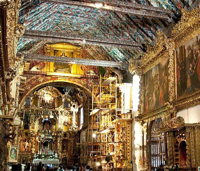 Igreja de São Pedro, Andahuaylillas, Peru