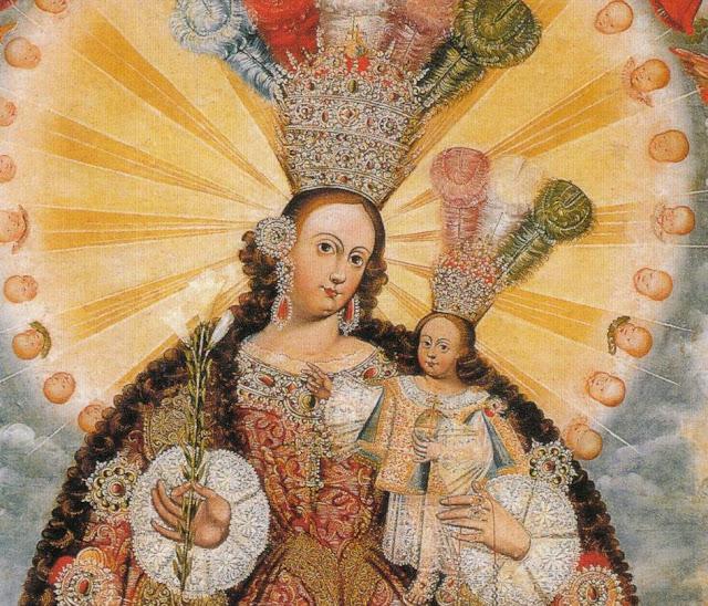 Nossa Senhora do Rosário de Pomato, escola cusquenha