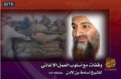 Bin Laden, chefe terrorista e ambientalista islâmico: