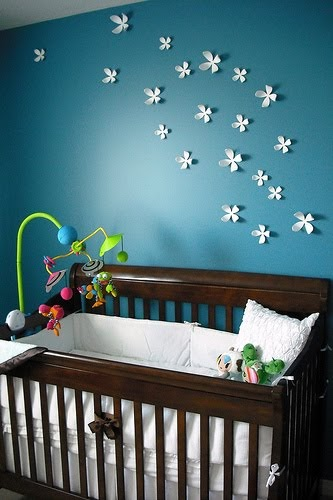Diary lifestyles nursery wall ideas above the crib for Above crib decoration ideas
