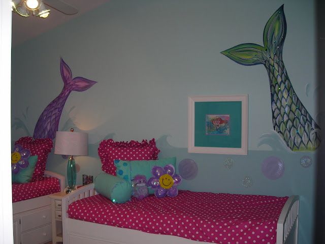 Room Baby Dazzle Girl 39 S Mermaid Room