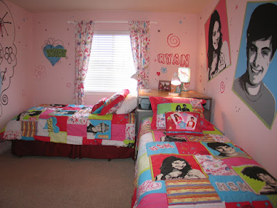 High School Musical Tween Room