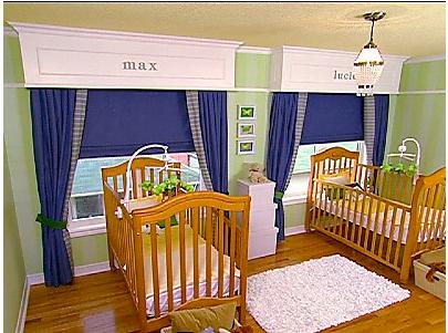 Design baby room gazee for Kids room window treatment
