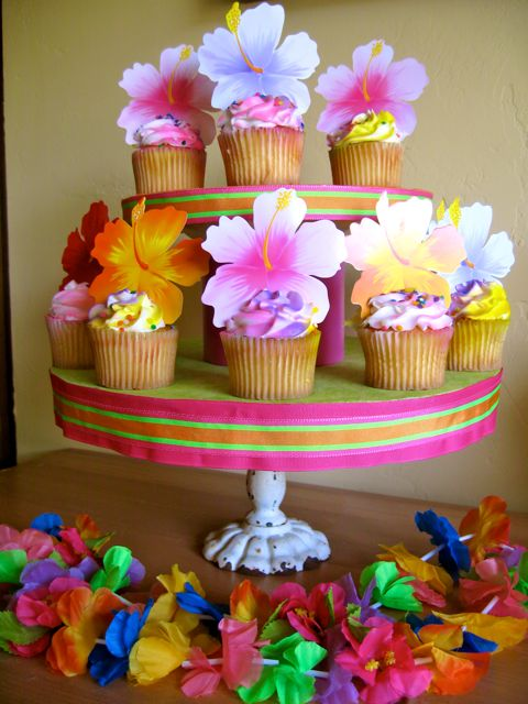 how to make a cupcake stand