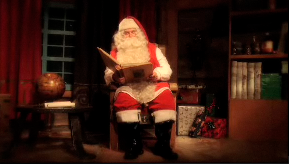 Christmas message from santa for adults